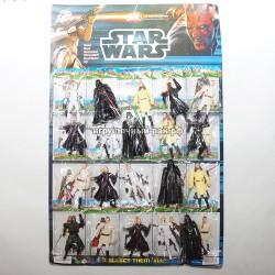 Фигурки Звездные войны на блистере 20 шт 150625