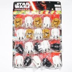 Фигурки Звездные войны на блистере 20 шт H6806