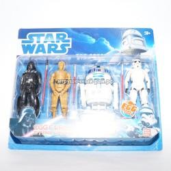Фигурки Звездные войны набор из 4 шт 6604