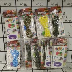 Набор для плетения браслетов в упаковке 26 шт N-2B