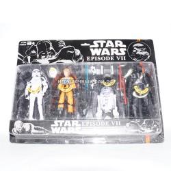 Фигурки Звездные войны набор из 4 шт 33029