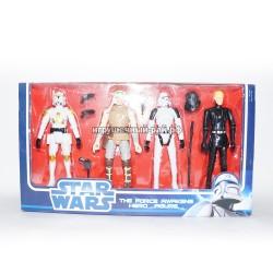 Фигурки Звездные войны набор из 4 шт 68224