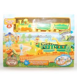 Железная дорога Поезд динозавров XZ-516-517