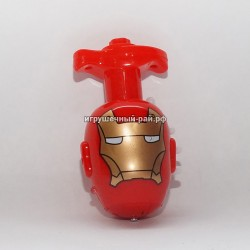 Крутится и светится голова Супер-герои в боксе 12 шт 3508