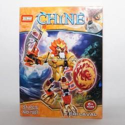 Конструктор Чима (Xinh, 51 дет) 7007