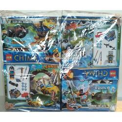 Конструктор Чима в упаковке 4 шт 3D2701-1-6