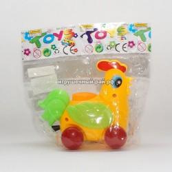 Игрушка-каталка курочка в упаковке 10 шт 89-99A