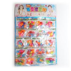 Наборы плетения браслетов на блистере 20 шт 35672