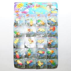 Растущие рыбки на блистере 20 шт 7845