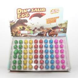 Растущие динозавры из яйца в боксе 60 шт 27843