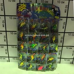 Растущие динозавры на блистере 20 шт 7845-600