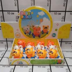 Заводные игрушки Котята в боксе 12 шт 8886