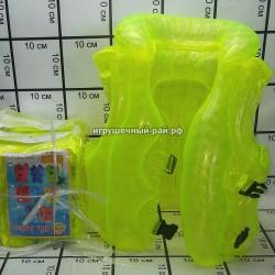 Надувной жилет в упаковке 10 шт YQ-4DM