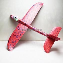 Самолёт из пенопласта (свет + светодиодная лента) 2126-26-48СМ-3