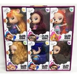 Куклы Лисички в боксе 6 шт 01911