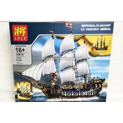 Конструктор Корабль (Lele, 1779 дет) 39010