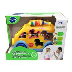 """Развивающая игрушка """"Автобус"""" для малышей 988"""