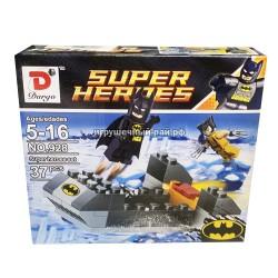 Конструктор Супер-герои (Dargo, ассортимент, 4 вида, ~37 дет) 928