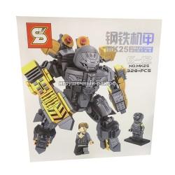Конструктор Супер-герои (SY, 328+ дет) MK25