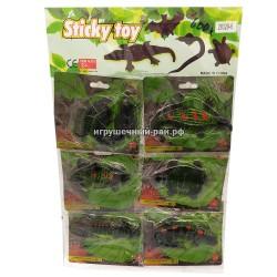 Лизуны Животные на блистере 6 шт 28329-6