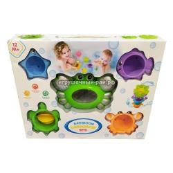 Набор игрушек для купания с термометром 5536