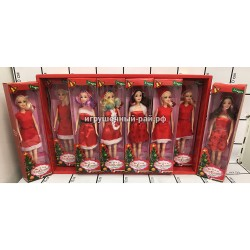 Куклы Снегурочка в боксе 12 шт L2118
