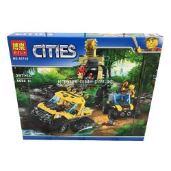 """Конструктор Сити """"Миссия: Исследование джунглей"""" (Bela, 397 дет) 10710"""