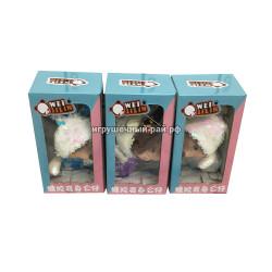 Игрушка Мышка с пайетками в боксе 12 шт 1264-1