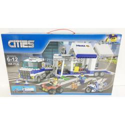 Конструктор Сити (398 дет) K8004