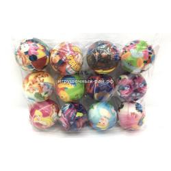 Мячики в упаковке 12 шт 25172-18