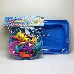 Набор для рыбалки с надувным бассейном 654-G1
