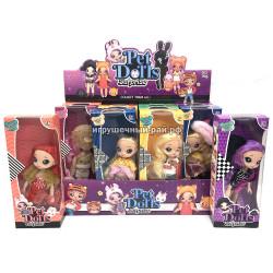 Куклы Пэт Доллс в боксе 12 шт LK1132-8