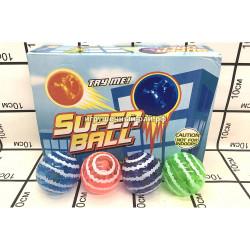 Супер мячики в боксе 12 шт (HBA-58) 7.5CM caihong-HBA-58