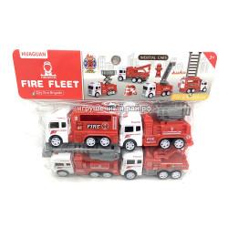 Машинки Пожарные (набор из 4 шт) 700-6