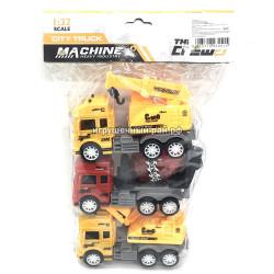 Машинки Строительная техника (набор из 3 шт) JW567-008