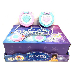 Косметички шкатулки Принцессы в боксе 12 шт M30