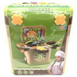 Набор посуды для кухни в чемоданчике L666-36A
