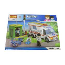 Конструктор Сити (Cogo, 283 дет) 4124