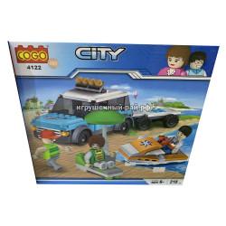 Конструктор Сити (Cogo, 210 дет) 4122