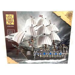 Конструктор Пиратский корабль (Lion king, 1709 дет) 180056