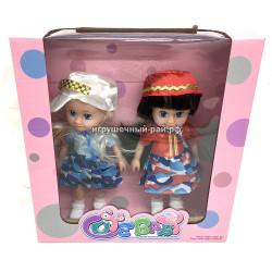 Куклы (набор из 2 шт) TD9966B