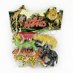 Набор фигурок животные в упаковке 030