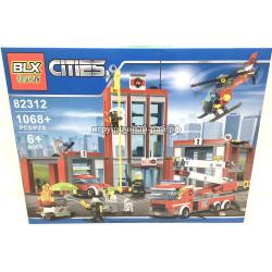 Конструктор Сити (BLX, 1068 дет) 82312