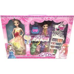 Кукла с набором одежды T8815A