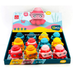 Заводные игрушки бокс из 12 шт 203