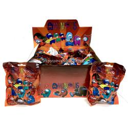 Фигурки Амонг Ас в упаковке бокс из 24 шт 53583