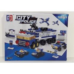 Конструктор Сити Полиция (GF, 175 дет) 123-302