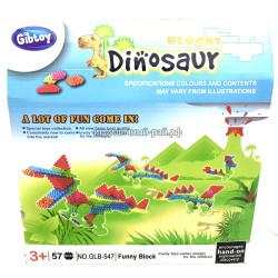 Конструктор Динозавры (57 дет) GLB-547