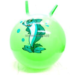 Мяч прыгун с рожками (ассортимент) 25172-10