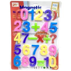 Магнитные цифры на блистере HC0977